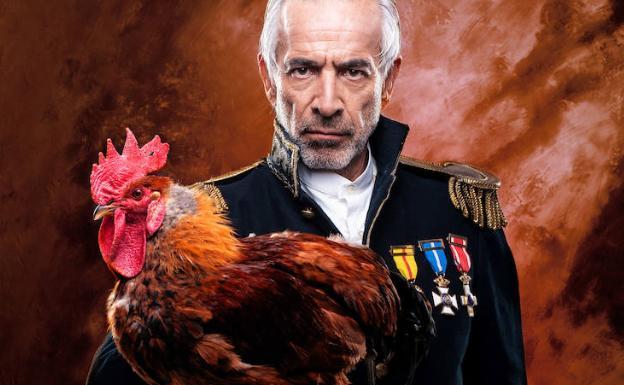 El coronel interpretado por Imanol Arias.
