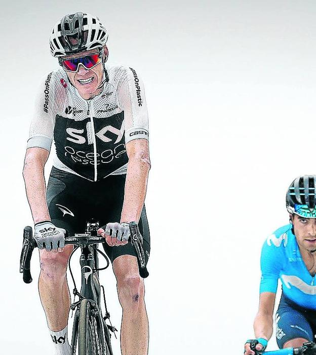 Froome, ready to fight again for victory on the Tour.