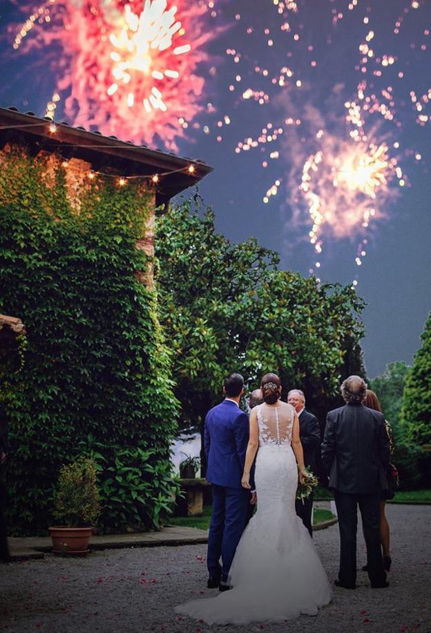 Espectacular imagen de la boda María y Carlos.