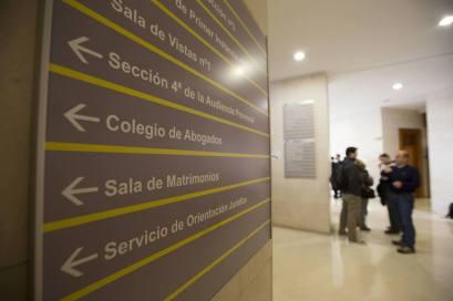 Interior de una sede judicial santanderina./Roberto Ruiz