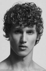 men's curly hairstyles