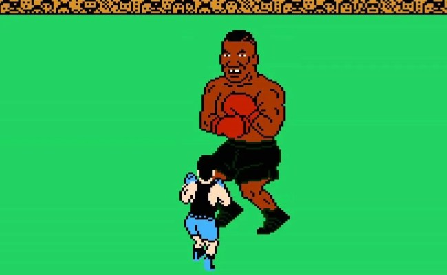 Two Players Beat Mike Tyson S Punch Out Blindfolded With 1