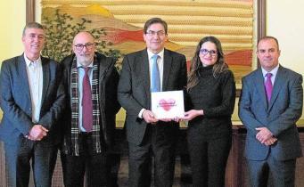 Presentación en Valencia del libro 'Solidaridad y compromiso'./LP