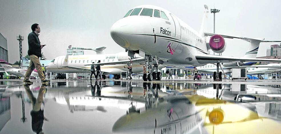 Los jets privados sobrevuelan la pandemia | Las Provincias