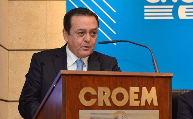 José María Albarracín, president of Croem, in a file photo.
