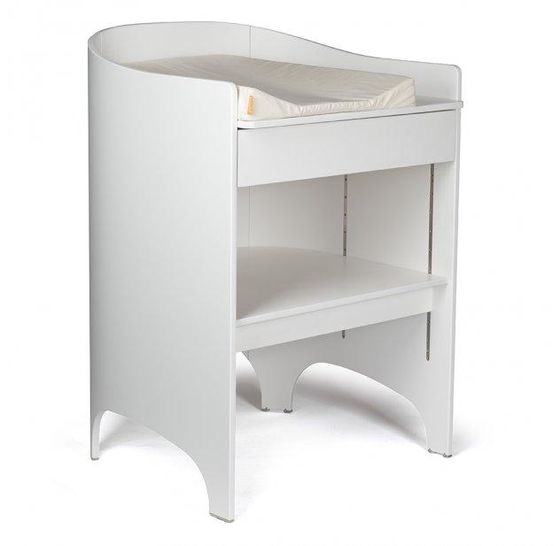 commode a langer evolutive leander transformable en bureau blanc