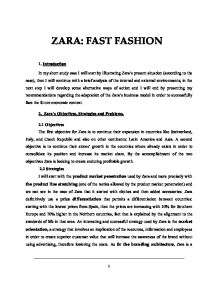 Zara Pest Analysis The Pest Analysis Used For All External