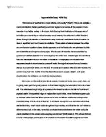 Argument Essay Argument Essay Tv And Younger 20 Sports Argumentative