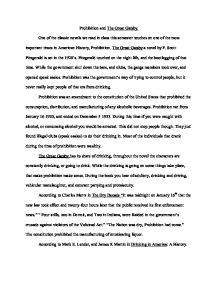 The Great Gatsby Essay The American Dream Hospi Noiseworks Co