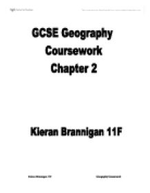 Geography coursework conclusion help