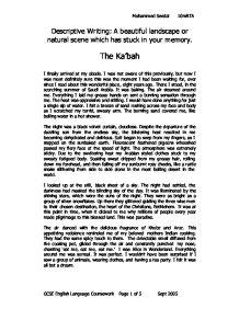 Family Narrative Essay