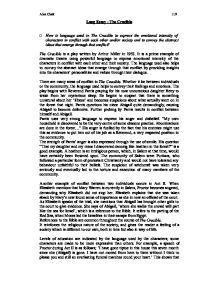 Long Essay  The Crucible  GCSE English  Marked by Teacherscom