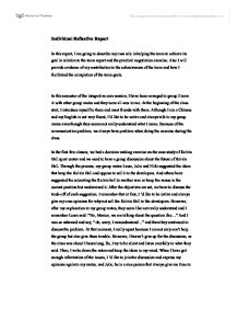 Example reflective essay group work  drugerreport732webfc2com