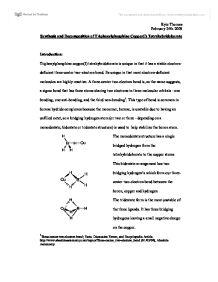 Synthesis and Decomposition of Triphenylphosphine CopperI Tetrahybridoborate  University