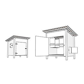 Basic Coop Building Plans (up to 4 chickens)