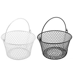 Coated Wire Basket with Handle, 36 eggs