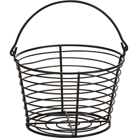 Heavy Duty Egg Basket, Black (36 eggs) from My Pet Chicken