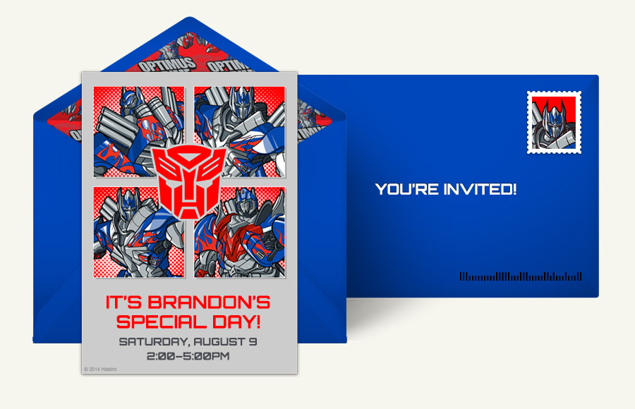 Christening Invitation Design Boy
