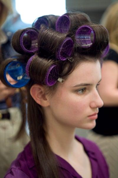 Velcro Short Rollers Hair