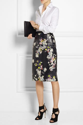 Erdem-Aysha-floral-print-leather-pencil-skirt_NAP_2900
