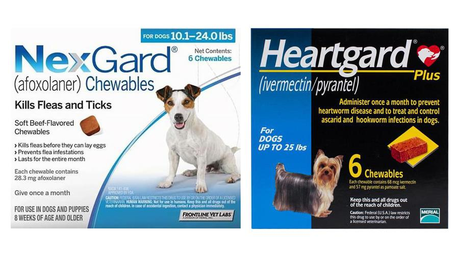 Heartgard Plus For Dogs Up To 25 Lbs Blue 12 Chewables The Best