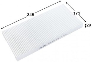 AC51021 CABIN AIR FILTER BOSCH 1987432045 FORD 1062253