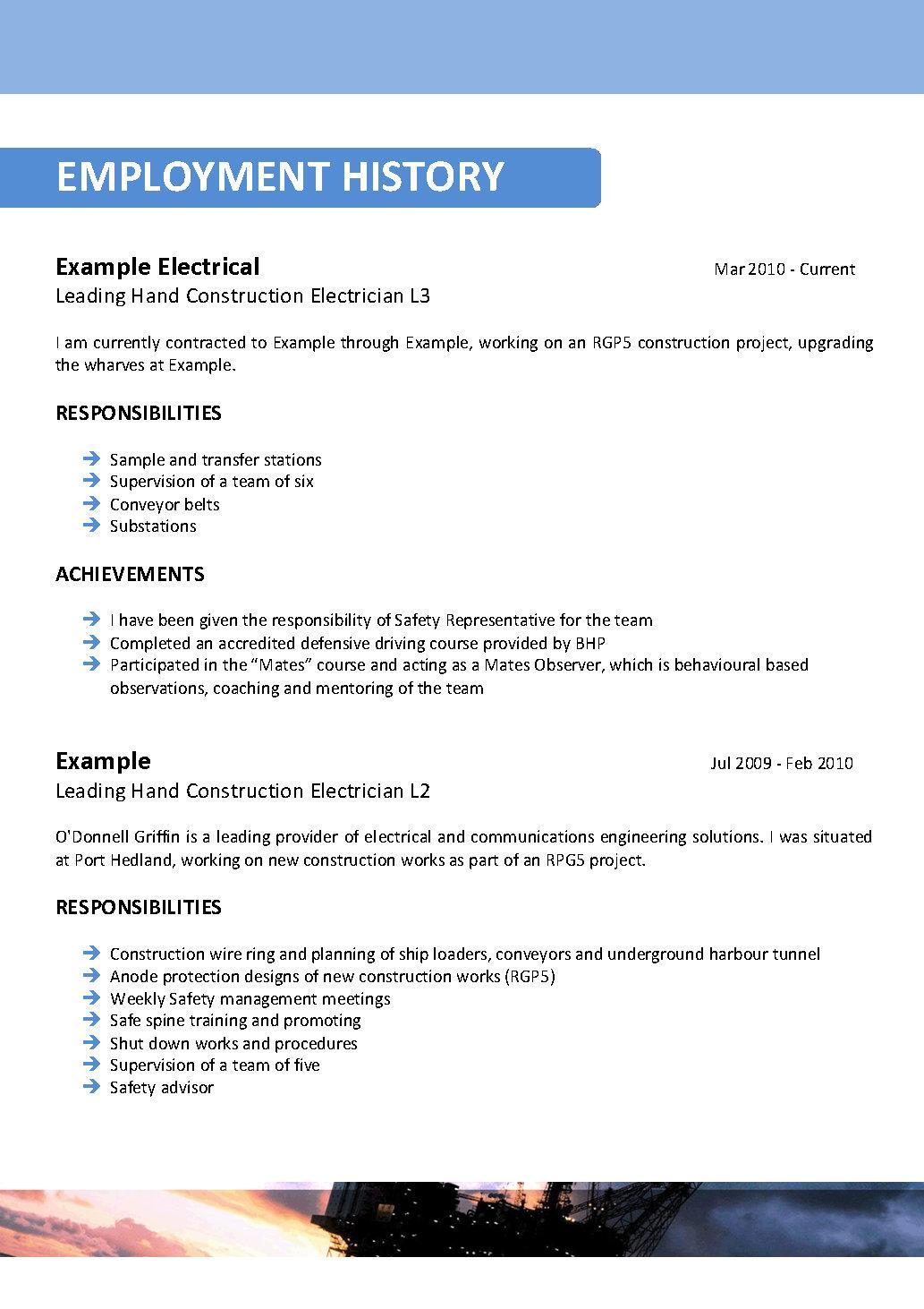 Objective For Offshore Resume Offshore Mining Resume Template 094