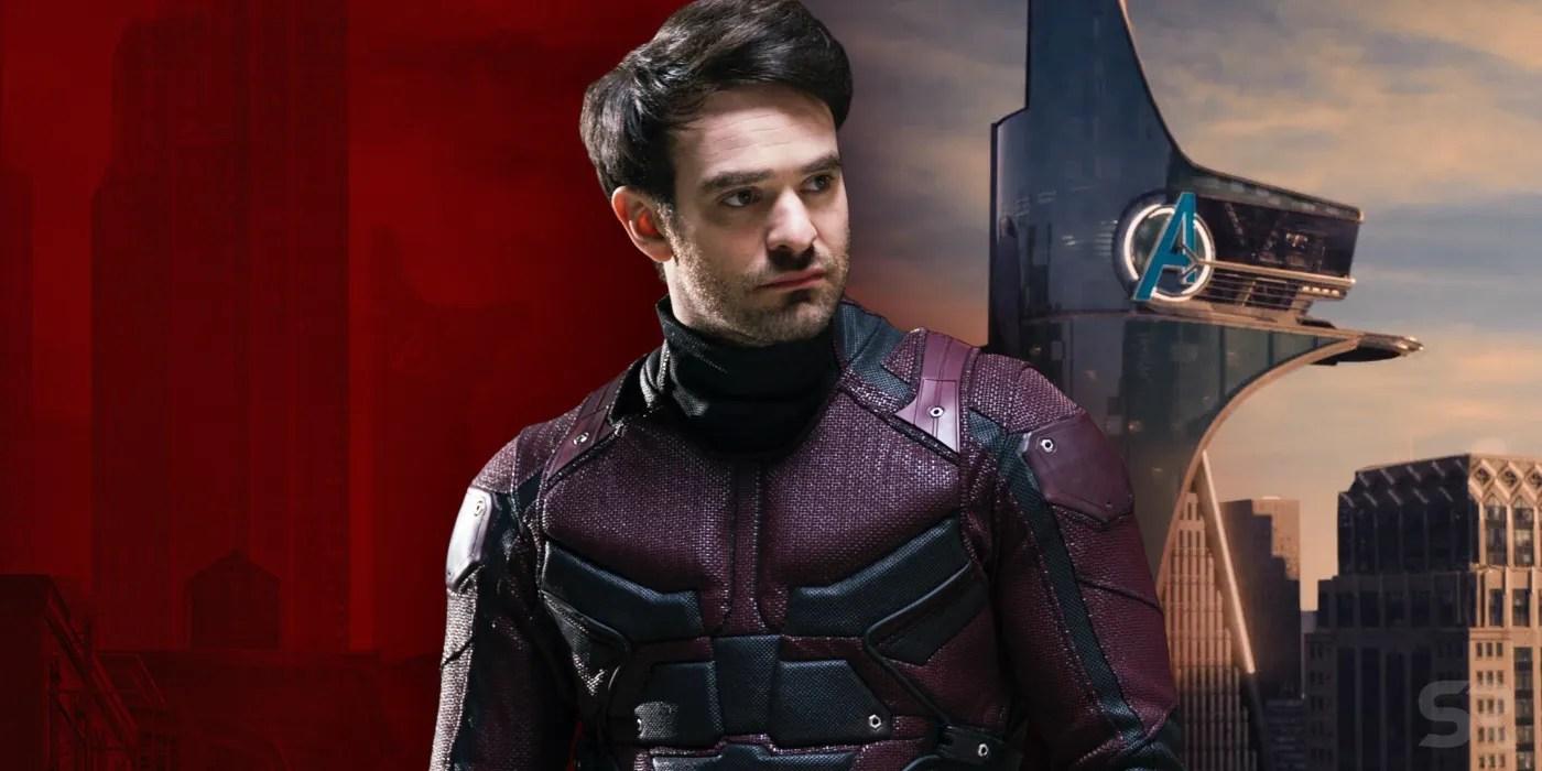 Upstate New York Fall Hd Wallpaper Daredevil Season 3 Poster Hides Avengers Tower Easter Egg