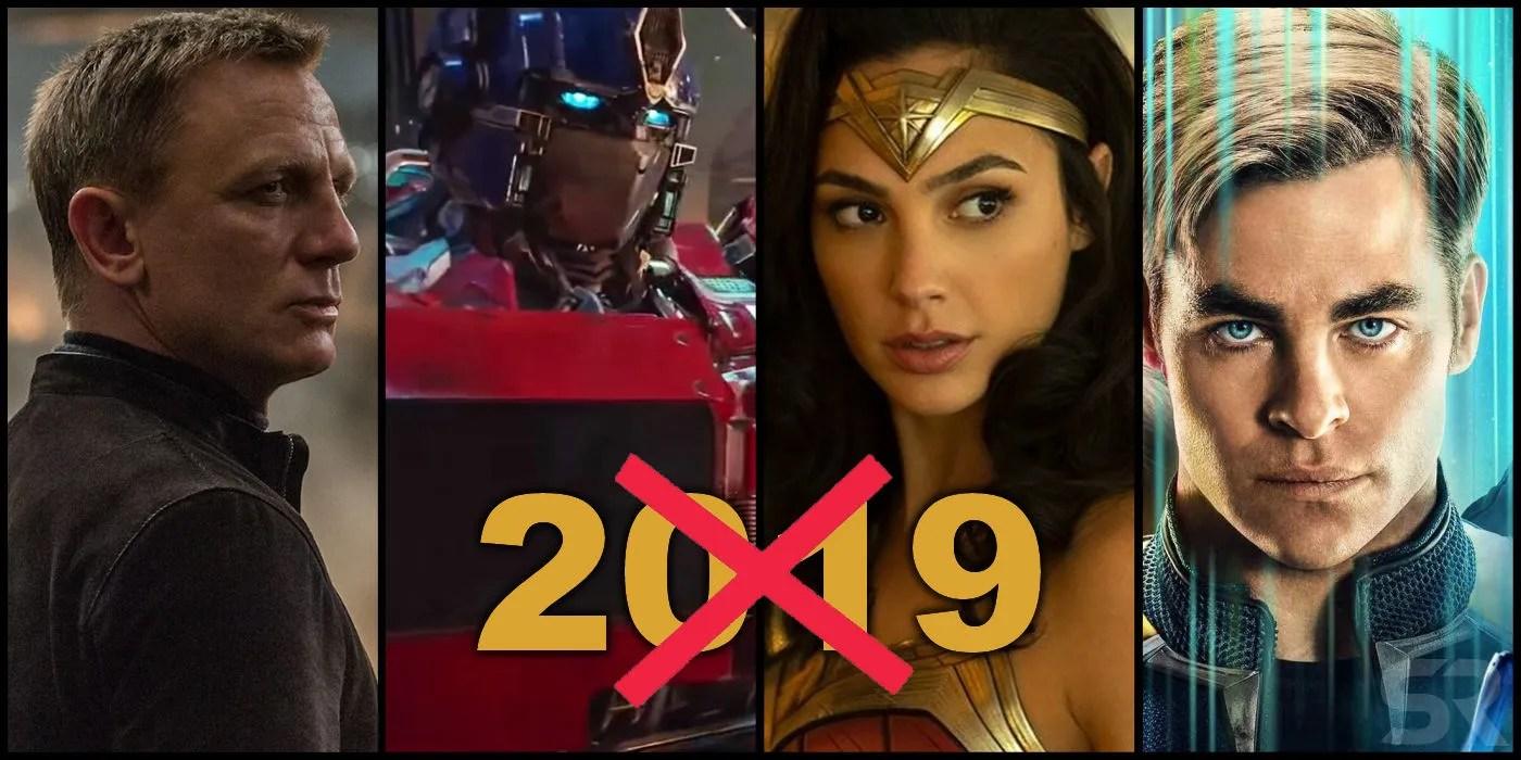 Movie Franchises Skipping 2019  ScreenRant