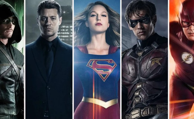 Every Single Dc Tv Show Ranked Screenrant