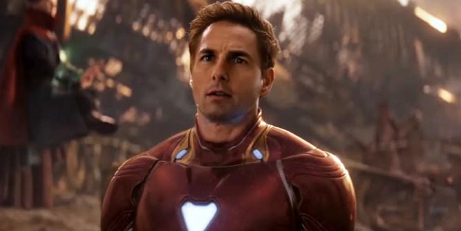 Tom Cruise Iron Man