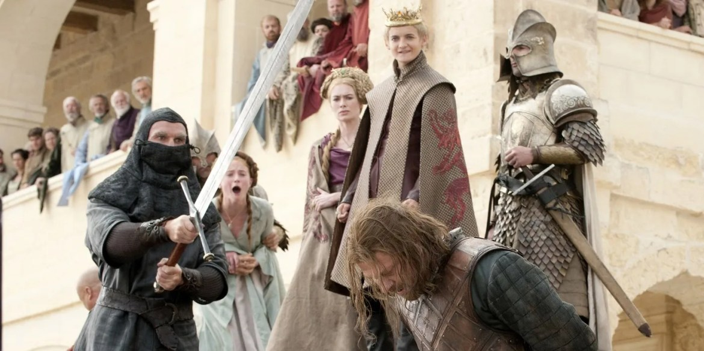 Ser Illyn Payne beheads Ned Stark