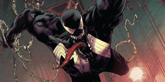 The biggest change for Venom as king in black is no one he hasn't noticed