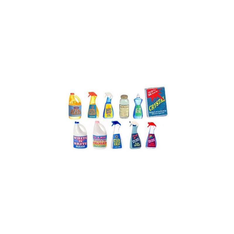 Cleaning Products Assortment  Dollhouse Kitchen