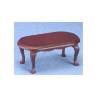Georgian Mahogany Coffee Table | Dollhouse Living Room ...