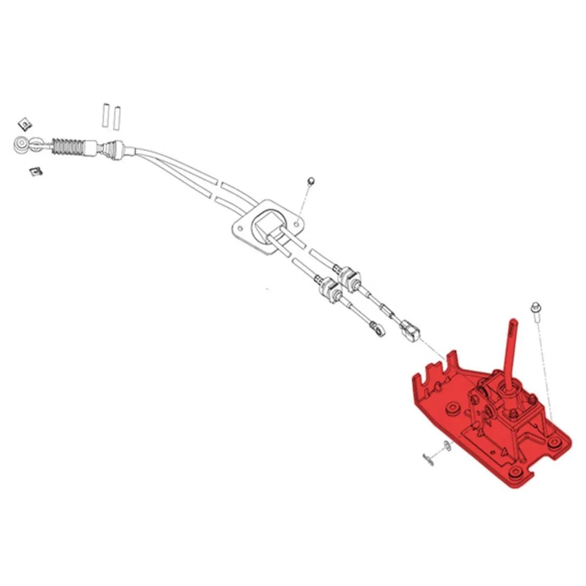 CONJUNTO ALAVANCA / TRAMBULADOR LIFAN X60 1.8 16V VVT