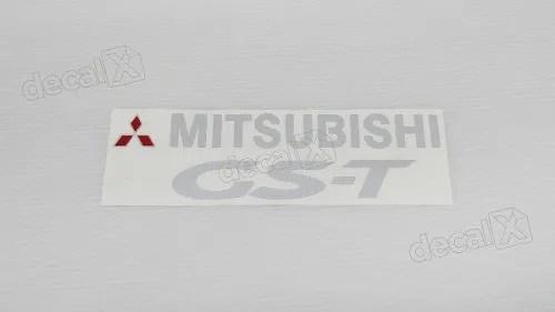 Adesivo Faixa Mitsubishi Eclipse Gs-t 1998 Gst001