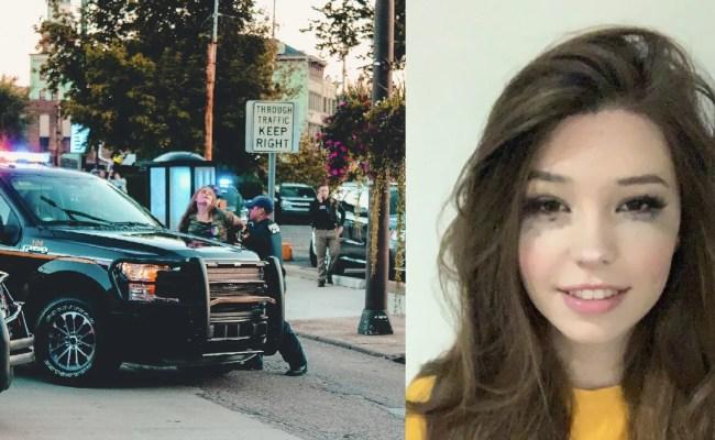 I Got Arrested Lol Belle Delphine Posts Mugshot To