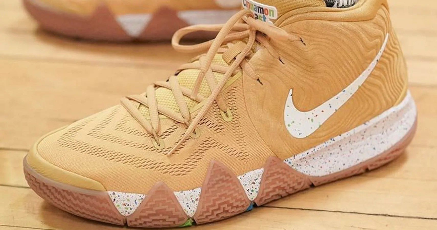 the best attitude 0b1d4 59091 Check Out The 'Cinnamon Toast Crunch' Nike Kyrie 4s   Best ...