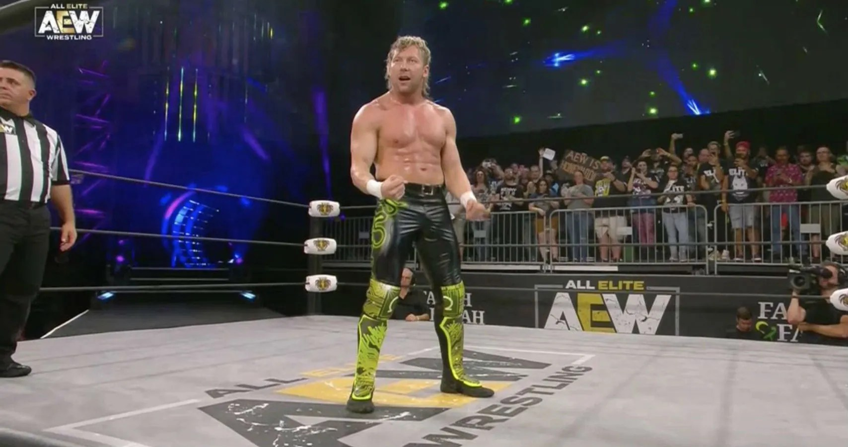 Kenny Omega Registers A Historic Aew First At Fight For