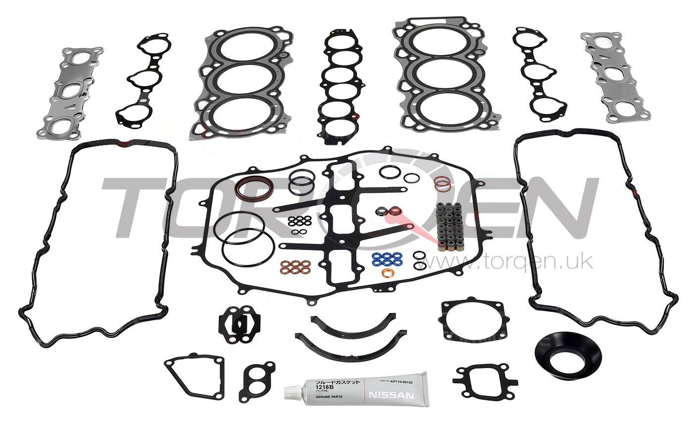 350z De Nissan Oem Engine Gasket Kit 05 06