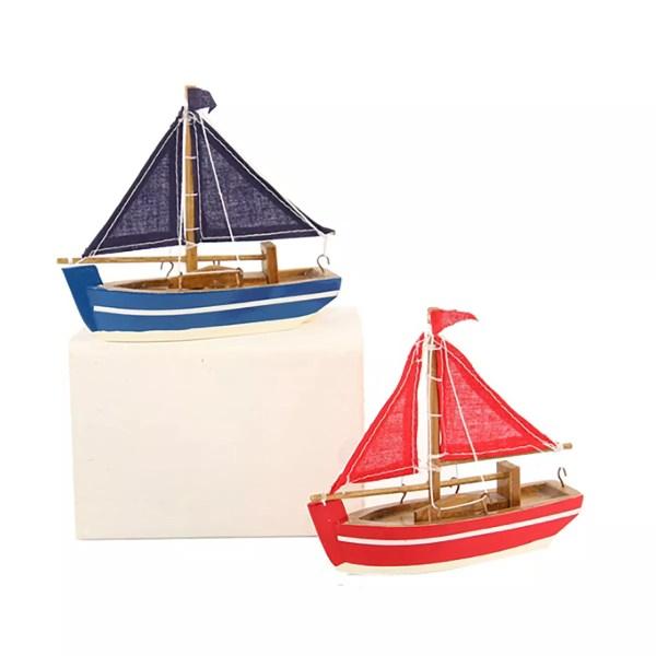 Mini vitorláshajó 7cm Szuvenír hajómakett