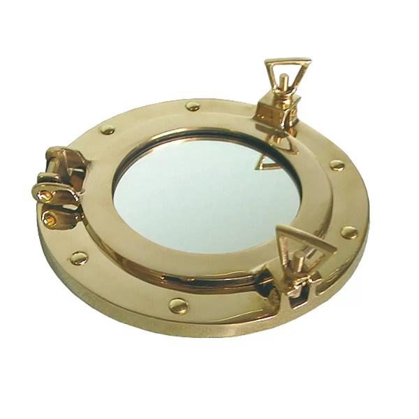 Hajóablak tükörrel 30 cm Tükör