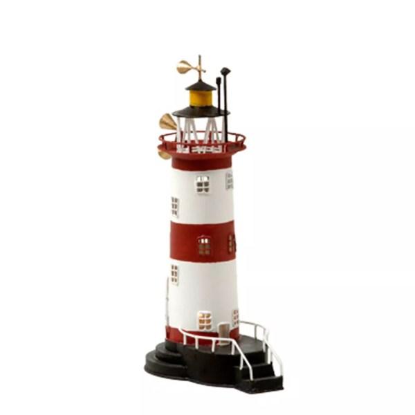 Mécsestartó világítótorony 25 cm Mécsestartó