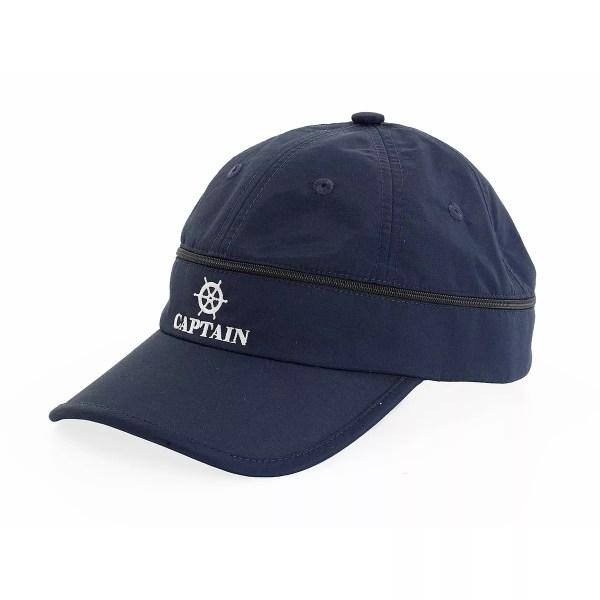Sapka és Napellenző 2 az 1-ben, kék Sapka, kalap