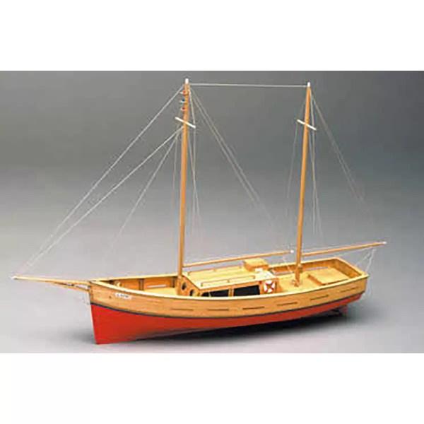 Capri 55 cm hajómakett építőkészlet Mantua