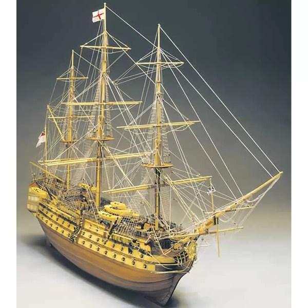 HMS Victory hajómakett építőkészlet Mantua