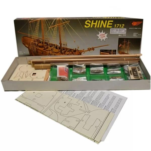 HMS Shine hajómakett építőkészlet Mantua