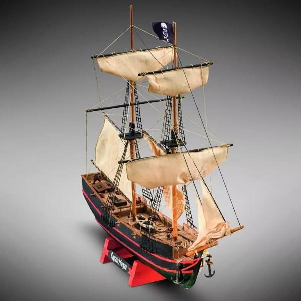 Captain Morgan hajómakett építőkészlet Kezdő és gyerek kitt