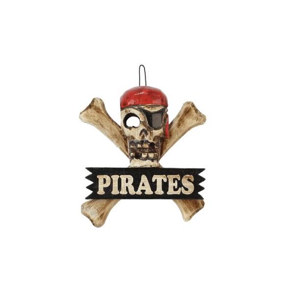 Pirates kalóz tábla Cégér, tábla